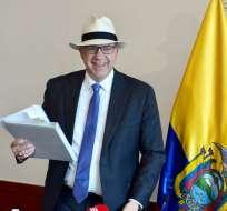 Según embajador de EEUU, ahora Ecuador es uno de sus aliados. Foto: API
