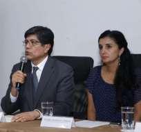QUITO, Ecuador.- Según autoridades, el fiscal Wilson Toainga viajó a Pasto con muestras para las pericias. Foto: API
