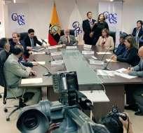 Miembros el Consejo Transitorio evaluará ternas para elegir a autoridades. Foto: Twitter Participación.