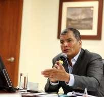Balda acusa a Correa de ordenar su secuestro en Bogotá, Colombia. Foto: Archivo
