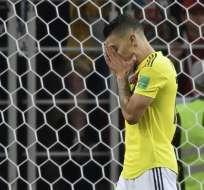 El jugador Mateus Uribe fue uno de los que falló para Colombia. Foto: Juan Mabromata / AFP