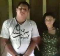 Katty Velasco y Óscar Villacís fueron retenidos por el grupo liderado por alias 'Guacho' desde abril. Foto: Archivo.