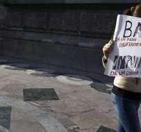 La tasa de impunidad en México roza el 95%.