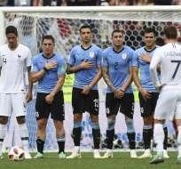 NIZHNI NÓVGOROD, Rusia.- El equipo francés demostró mayor contundencia que el elenco francés. Foto: AFP