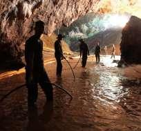 Hay un plazo de tres o cuatro días para evacuarlos antes del regreso de las lluvias. Foto: AFP