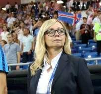 Iva Olivari trabaja en la Federación de Fútbol de Croacia desde 1992. Foto: AS.com