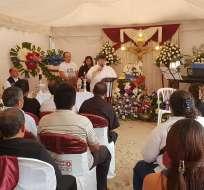 Él y Katty Velasco fueron secuestrados y asesinados en la frontera con Colombia. Foto: Diana Romero