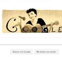 En el navegador de Google se destaca el 114 aniversario del nacimiento de la artista.