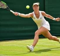 Karolina Pliskova fue la última sembrada entre las diez en quedar eliminada. Foto: Glyn KIRK / AFP