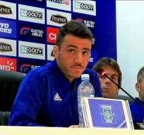Mariano Soso reconoció las falencias que tuvo su equipo para mantener la ventaja en el resultado. Foto: Archivo