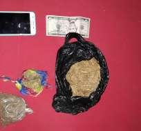 La droga se encontraba camuflada en paquetes de panela. Foto Referencial/ Droga