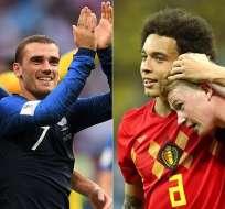 El partido Francia vs. Bélgica se disputará en San Petersburgo a las 13:00 (hora de Ecuador). Foto: peru.com
