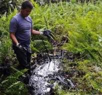 """Afectados por Chevron señalan como """"histórico"""" fallo en Ecuador. Foto: AFP - Archivo"""