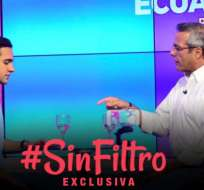 VIDEO: Entrevista EXCLUSIVA que muestra una faceta diferente del prefecto de Guayas.