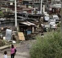 Ecuador, con unos 16,7 millones de habitantes, registraba en 2007 un índice de pobreza extrema de 16,5%. Foto: Tomada de CORAPE.