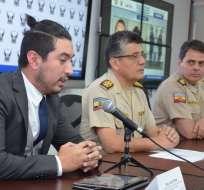 Mauro C. fue capturado en Colombia y ya se coordina su extradición al Ecuador. Foto: Ministerio del Interior