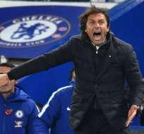 LONDRES, Reino Unido.- Antonio Conte dirigió el Chelsea desde el 2016. Foto: AFP