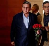 """Santos considera """"muy importante"""" que jefes de FARC respondan por secuestros.Foto: EFE"""