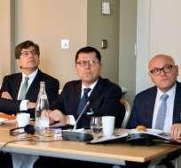 BÉLGICA.- José Valencia participa en la II Reunión de cancilleres de la Celac y la Unión Europea. Foto: Cancillería