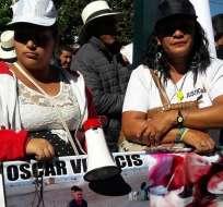 QUITO, Ecuador.- Los cuerpos de Katy Velasco y Óscar Villacís fueron hallados en la selva de Tumaco. Foto: Corape