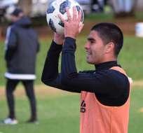 El delantero paraguayo prefirió a Liga de Quito en lugar de Talleres de Córdoba. Foto: Tomada del Instagram @brianmontenegro93