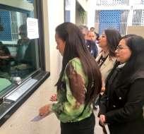 QUITO, Ecuador.- Según Marcela Aguiñaga, Balda realizaba actividades de piratería informática en Colombia. Foto: Twitter