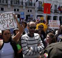 QUITO, Ecuador.- Protestas por la desaparición de María José y su hija se realizaron el 9 de julio. Foto: Archivo/API.