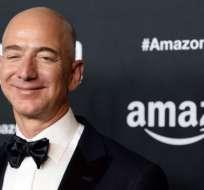 Jeff Bezos, fundador de Amazon, es considerado como el hombre más rico del planeta.
