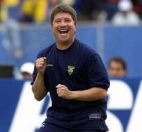 El entrenador dirigió la selección ecuatoriana desde 1999 a 2004. Foto: Tomada de estadio.ec