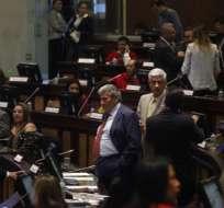 ECUADOR.- Asambleístas de distintas bancadas llaman a Serrano a explicar contenido de conversación con Chicaiza. Foto: API