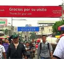 Ecuavisa viajó a la frontera sur para palpar el tema