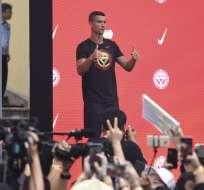 El portugués fue fichado recientemente por el Liverpool. Foto: WANG ZHAO / AFP
