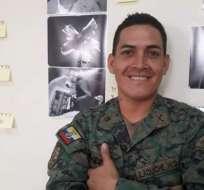 Soldado Wilson Ilaquiche Gavilanes desapareció en sector fronterizo desde mayo. Foto: Archivo