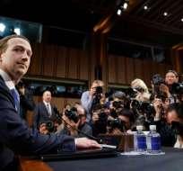 Afirmó que Facebook no debería prohibir publicaciones que niegan el Holocausto. Foto: Archivo AP