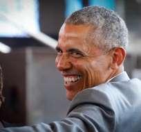 El expresidente norteamericano participaría en una charla sobre liderazgo social. Foto: EFE.