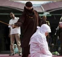 Ocurrió en una provincia de Indonesia, pese a que autoridad lo prohibió. Foto: Archivo EFE ABC