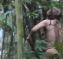 El video se difundió como prueba de que el hombre está vivo en una inhóspita zona del Amazonas brasileño.