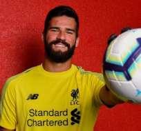 Liverpool fichó a Alisson por una cifra récord para un portero.