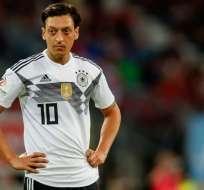 Mesut Ozil ha marcado 23 goles en 92 partidos con la Mannschaft. Foto: AFP