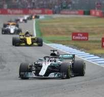 La empresa Formula One explicó que aún hay un punto para que se pueda realizar la carrera. Foto: Christof STACHE / AFP