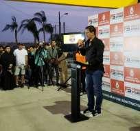 El presidente de Barcelona Sporting Club se muestra optimista en caso Ariel Nahuelpan. Foto: Tomada de @panchocevallosv