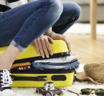 ¿Has sentido alguna vez que las cosas nunca cabrán en la maleta? Foto: Getty Images