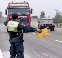 Estos operativos ilegales causan perjuicios valorados en miles de dólares. - Foto Referencial: RPP
