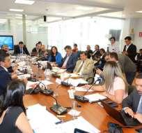 Informe de Comisión, en su mayoría, se allanaría a observaciones de Ejecutivo. Foto: @ealbornozv