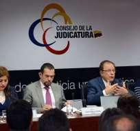 Según Juan Pablo Albán, la Judicatura está metiéndose en decisiones de jueces. Foto: Archivo API