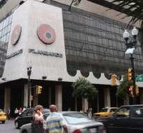 ECUADOR.- Filanbanco es uno de los bienes que la AGD incautó a los hermanos Isaías. Foto: Archivo
