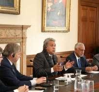 REINO UNIDO.- Según el Ejecutivo, su intención es atraer inversiones que impulsen la economía nacional. Foto: Secom