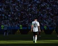 El argentino no tuvo un buen mundial y se fue eliminado con su selección en octavos de final. Foto: FRANCK FIFE / AFP