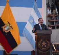 Durante sesión solemne, alcalde recordó que se acerca el fin de su administración. Foto: API