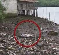 En agosto de 2017, el hallazgo de 2 cadáveres en el Estero Salado causó conmoción. Foto: Archivo.